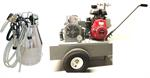 Portable Vacuum Pump Unit with 3 HP Gas engine