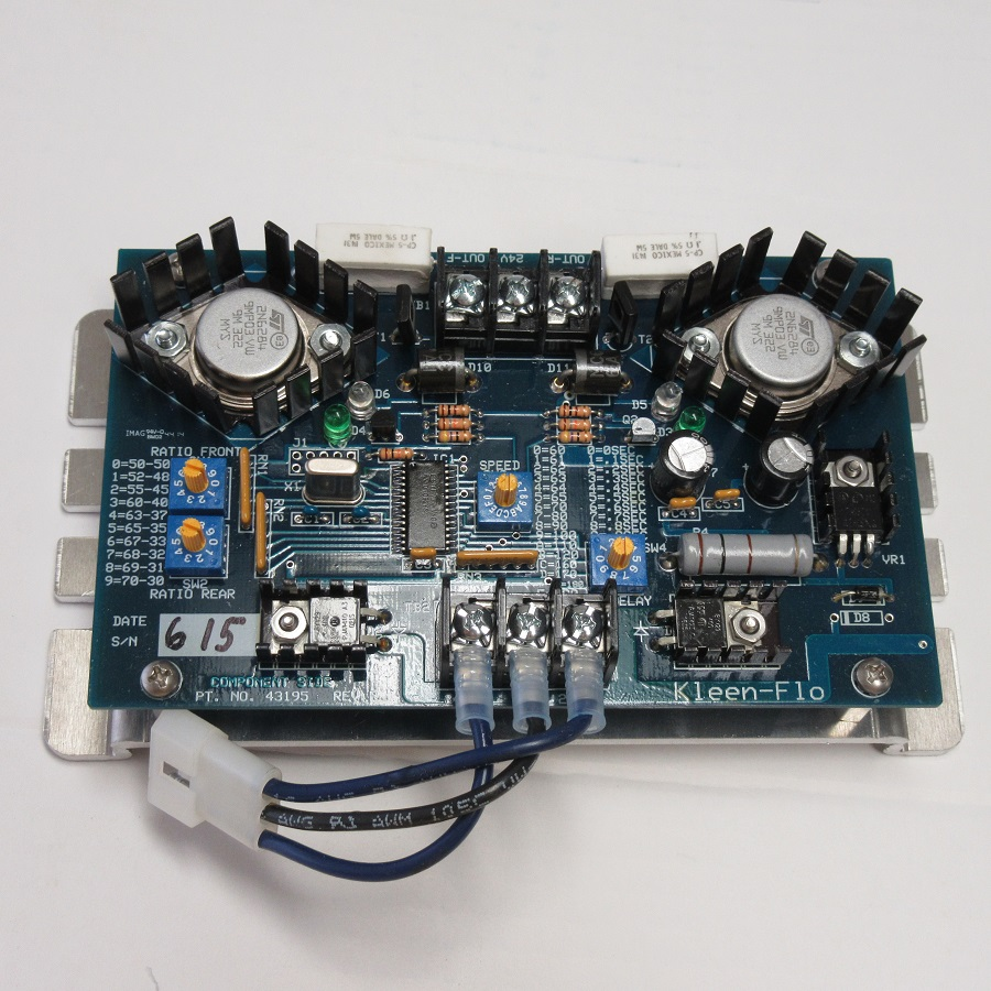 Reconditioned Kleen Flo B-12 pulsation board 2