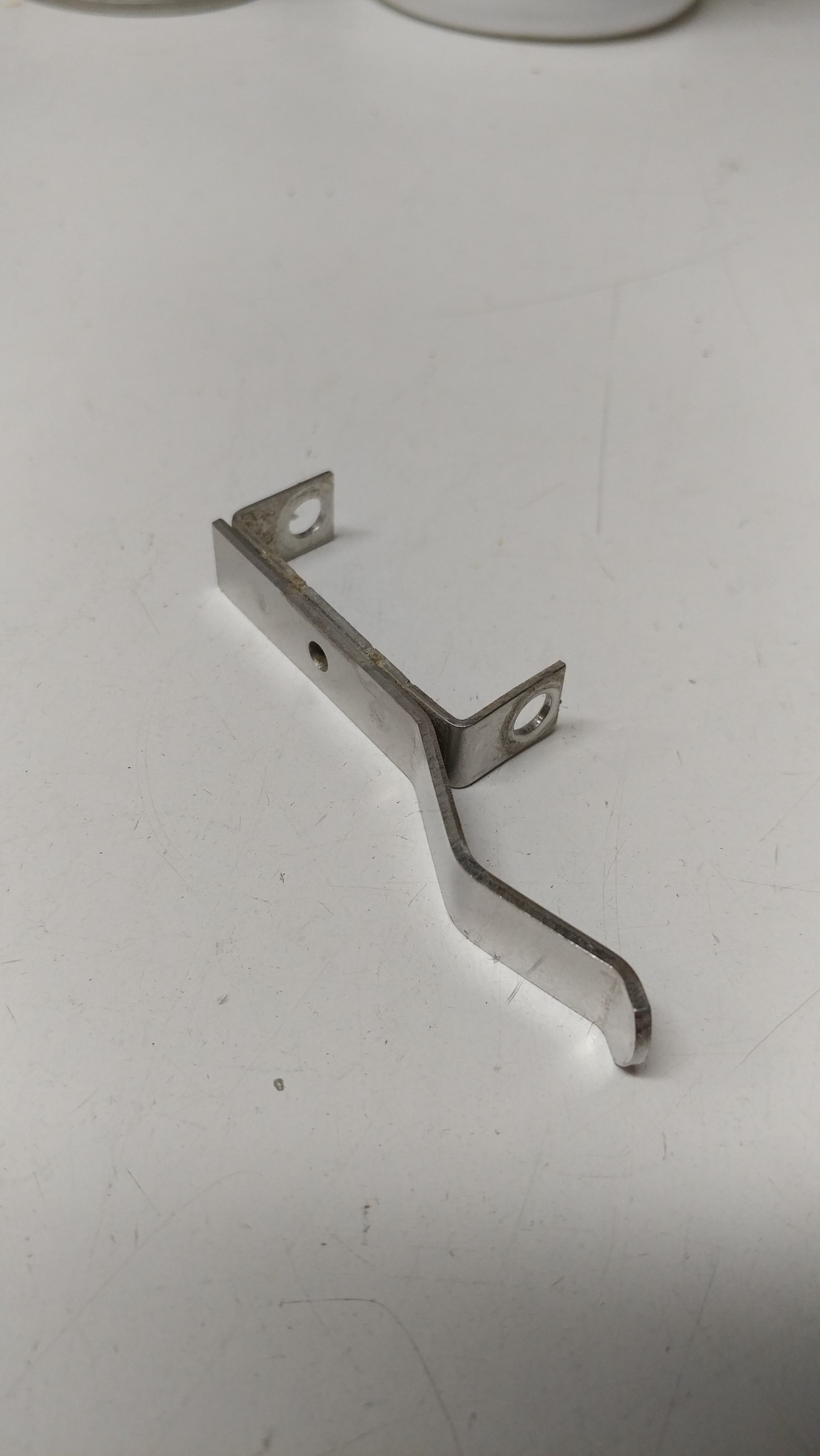 Stainless clip for white UN stallcock
