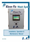Kleen-Flo Wash System Manual